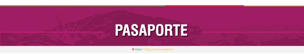 cita pasaporte bucaramanga
