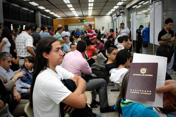 cita pasaporte medellin